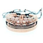 Bangle set rose gold